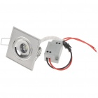 1W 90-Lumen 6500K White LED Ceiling Lamp/Down Light with LED Driver (AC 220V)