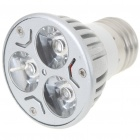E27 3W 3-LED 260-Lumen 3500K Warm White Light Bulb (AC 220V)