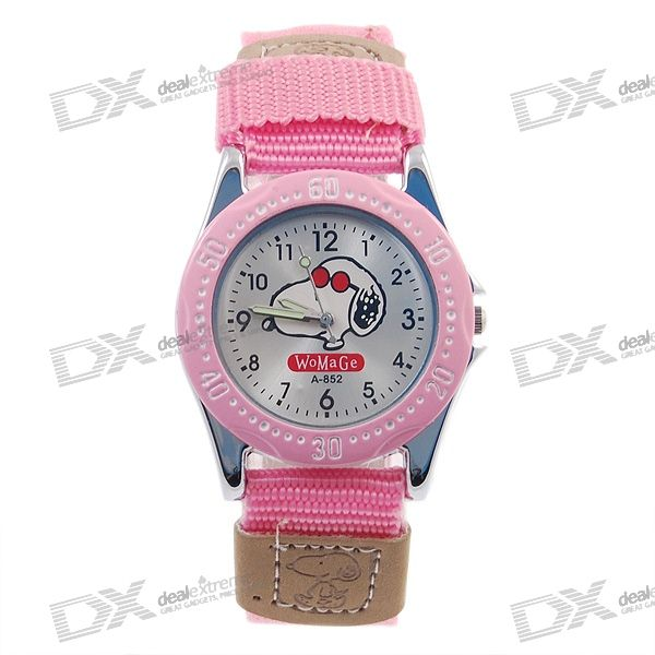 Snoopy Quartz Watch (Pink)