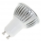 GU10 3W 260lm 3500K Warm White Light 3-LED žárovka Cup (AC 220V)
