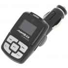 "1.0"" LCD Bluetooth V2.1 MP3 Player FM Transmitter with Caller ID Handsfree - Black (SD/USB/12V)"