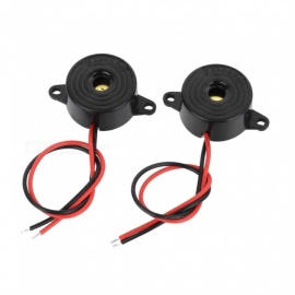 2312 DC3-24V Mini Electronic Buzzer Sounder Alarm (2 PCS)