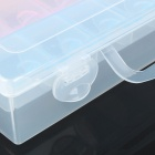 Multi-function 21-Compartment Plastic Storage Box for Electronic Components or Small Gadgets