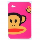 Protective Backside Sticker for Samsung P1000 - Paul Frank (Rose Red)
