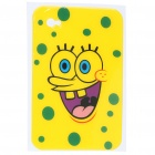 Protective Backside Sticker for Samsung P1000 - Spongebob Squarepants (Yellow)