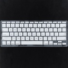 "Silicone Keyboard Protective Cover for Apple Macbook Air 11.6"" - Silver"