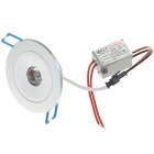 1W 90-Lumen White LED Ceiling Lamp/Down Light with LED Driver (AC 85~265V)