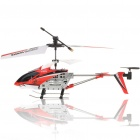 Rechargeable Wireless 3.5-CH Control Mini IR Helicopter Set - Silver + Orange