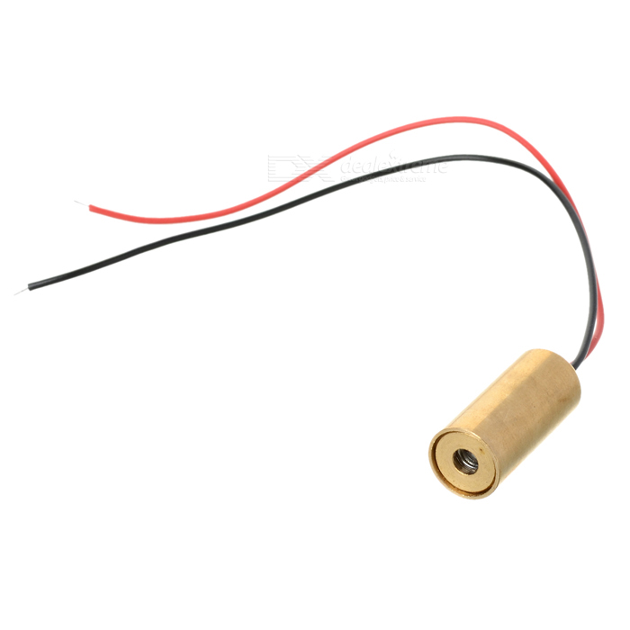 Red Laser Module - Focused Dot (3.5V~4.5V 9mm 5mW)