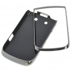 Replacement Electroplating PC Housing Case for BlackBerry 9800 - Grey