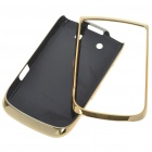 Replacement Electroplating PC Housing Case for BlackBerry 9800 - Golden