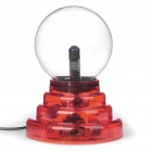 AC Powered Plasma Ball Red Light Lightning Sphere (210~250V)