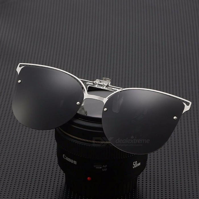 5ce5093273 New  s Glasses High Clip Women Quality Frame Polarized Metal r7qrf