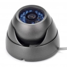 1/3 SONY CCD Surveillance Security Camera with 20-LED Night Vision - Black (DC 12V)