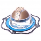 Stylish Scent-Bottle Bluetooth V2.0+EDR Handsfree Car Kit with Perfume Set - Champagne