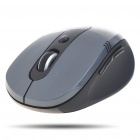 2.4GHz Wireless 500/1000CPI Optical Mouse with Receiver - Dark Silver + Black (1 x AA)
