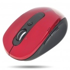 2.4GHz Wireless 500/1000CPI Optical Mouse with Receiver - Red + Black (1 x AA)