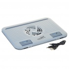 "USB Cooling Pad for 7~12"" Laptop Notebook - Grey"