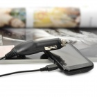 Car Cigarette Powered Retractable Charging Cable for Samsung Galaxy ACE S5830 (1M-Length)