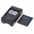 USB/AC Battery Charging Cradle + 3.7V 1200mAh Battery + EU Adapter for Nokia C7/N85/N86