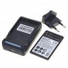 USB/AC Battery Charging Cradle + 1500mAh Battery + EU Adapter for MOTO Defy MB525/MB520/ME525/BF5X