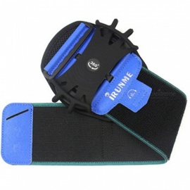 Arm Band Running Riding Arm Band Case Waterproof Outdoor Wrist Bag Sport Mobile Phone Holder For IPhone Case Blue