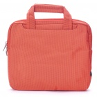 "Protective Nylon Bag with Shoulder Strap for 10"" Laptop Notebook - Orange + Black"
