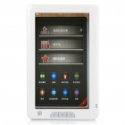 "7.0"" Touch Screen E-Book Reader Music/Video Media Player w/ Microphone/AV-Out/TF - Black (2GB)"