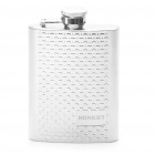 HONEST Stainless Steel Pocket Liquor Flask with Carrying Pouch & Funnel (4 oz)