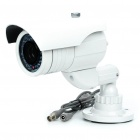 1/3 SONY CCD Waterproof Surveillance Security Camera with 36-LED Night Vision - White (DC 12V)