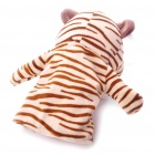 Funny Hand Puppet Plush Toy Doll - Tiger