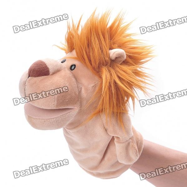 Funny Hand Puppet Plush Toy Doll - Lion