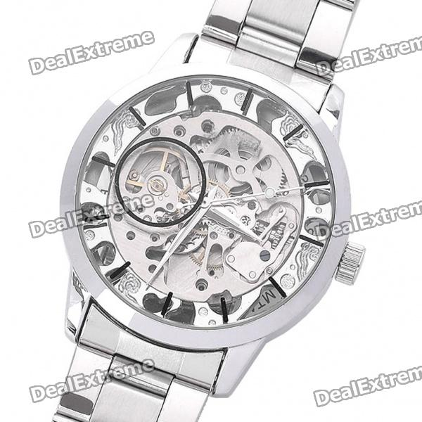 DayBird Auto Mechanical Steel Wrist Watch