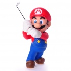 Super Mario Golf Player Resin Action Figure Display Toy