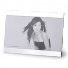Fashion Simple Glass + Metal Photo Frame (For 18 x 13cm Photo)