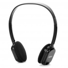 Genuine Rapoo H1080 2.4GHz Wireless Headphone with Microphone & USB Receiver - Black