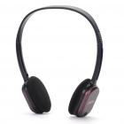 Genuine Rapoo H1080 2.4GHz Wireless Headphone with Microphone & USB Receiver - Black + Red