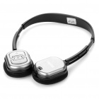 Genuine Rapoo H1080 2.4GHz Wireless Headphone with Microphone & USB Receiver - Black + Silver