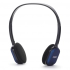 Genuine Rapoo H1080 2.4GHz Wireless Headphone with Microphone & USB Receiver - Black + Blue