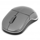 Genuine Rapoo 1100X 2.4GHz Wireless 1000CPI USB Optical Mouse with Receiver - Grey (1 x AA)