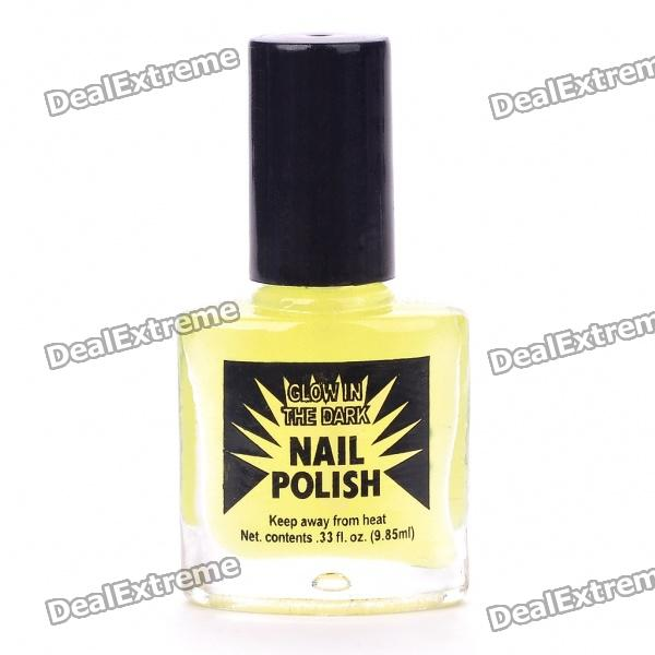 Glow-In-The-Dark Nail Polish - Green (9.85ML) Hialeah Used goods