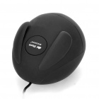 Cute Rabbit Wired 1000DPI USB Optical Mouse - Black