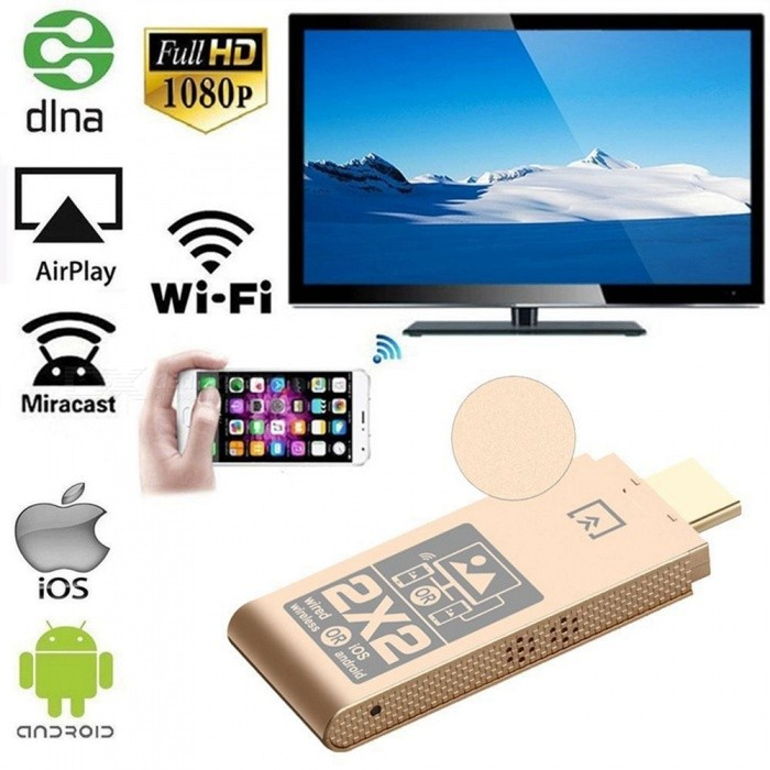 ec9606ef4ef 1080P Wireless Wi-Fi Display TV Dongle Receiver