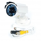 1/3 SONY CCD Waterproof Surveillance Security Camera with 20-LED Night Vision - White (DC 12V)