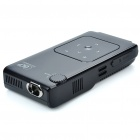 Portable Mini Home/Office Cinema 720P Multimedia Player DLP Pico Projector with AV/SD Card Slot