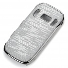 Electroplating Protective PC Back Case for Nokia C7 - Grey