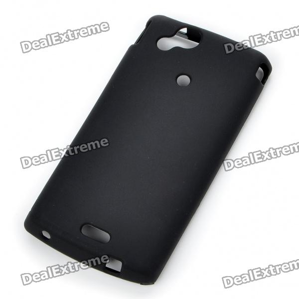 Protective PVC Case Shell for Sony Ericsson Xperia Arc LT15i/X12 - Black