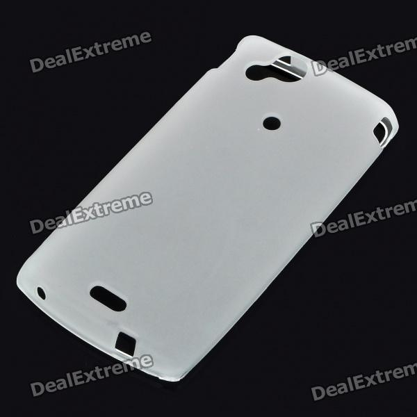 Protective PVC Case Shell for Sony Ericsson Xperia Arc LT15i/X12 - White sony ericsson xperia active billabong edition в украине