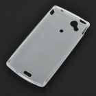 Protective PVC Case Shell for Sony Ericsson Xperia Arc LT15i/X12 - White