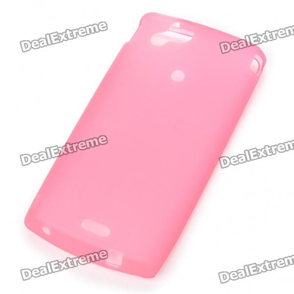 Protective PVC Case Shell for Sony Ericsson Xperia Arc LT15i/X12 - Pink sony ericsson xperia active billabong edition в украине